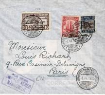Co007 Brief, / SCADTA, Barranquilla 1935, Nach Paris, Frankreich - Kolumbien