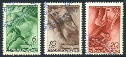 MAGYAR 1940 - Air Set Used. - Poste Aérienne