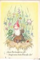 ZWERGE / Gnome / Dwarfs / Nains / Nani / Dwergen / Enanos - Künstler-Karte R.M., 1941 - Postkaarten