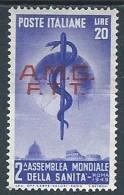 1949 TRIESTE A SANITA MH * - VA30-3 - Ungebraucht