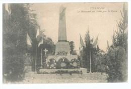 CPA Tollevast, Le Monument Aux Morts Pour La Patrie - Sonstige Gemeinden