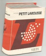 Petit Calendrier  Larousse   Livret   1971 Librairie  Charleville - Petit Format : 1971-80