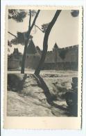 PHOTO 13,5 X 9 Cm Amateur Artistique Des Années 1950.. Château De CARCASSONNE. Tour De La Vade - Places