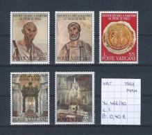 Vaticaan 1967 - YT 466/70 Postfris/neuf/MNH - Vatican