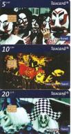 3-CARTES-PUCE-2006-SUISSE-SERIE CARNAVAL-TBE - Schweiz