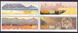 South Africa - 1975 - Tourist Publicity - Setenant Block Of 4 - Complete Set - Bowls