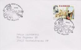 MB 2257) San Marino 1999 Mi# 1821 FDC: Georges BIZET, Carmen - Musik