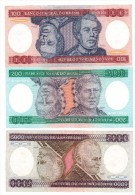 Brazil, 100-200-5000 Cz , UNC - Brazil