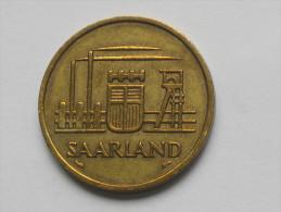 50 Franken 1954 - SARRE - Saarland - *** EN ACHAT IMMEDIAT **** - Sarre
