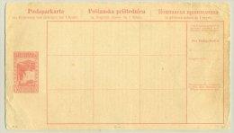 Bosnien Herzegowina - 1908 - Postsparkarte - Bosnië En Herzegovina