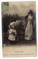NAPOLEON  Intime--1903--L'impératrice Marie-Louise Vient Chercher Son Fils Série N°521 Papier Guilleminot - Histoire