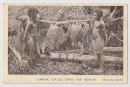 T868 - Carrying Turtles. Tanna. New Hebrides - Vanuatu