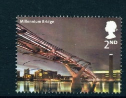 GREAT BRITAIN  -  2002  London Bridges  2nd  Used As Scan - Used Stamps