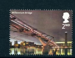 GREAT BRITAIN  -  2002  London Bridges  2nd  Used As Scan - 1952-.... (Elizabeth II)