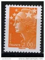 FRANCE 2009/ YT 4418  MARIANNE BEAUJARD 1€   Neuf** - 2008-13 Marianne De Beaujard