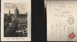 985) CREMONA PALAZZO GALLERIA 23 MARZO VIAGG. 1941 BELLA TARGHETTA MOSTRA TERZO PREMIO 15 GIUGNO 27 LUGLIO - Cremona