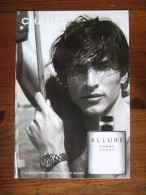 Chanel Allure Homme Sport Parfum Carte Postale - Perfume Cards