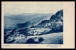 FRAGÃO DO CORVO / SERRA Da ESTRELA. Postal PORTUGAL 1927 - Guarda
