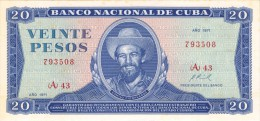 "1971 - 20  PESOS "" SCARCE "" UNCIRCULATED SIN CIRCULAR..!"