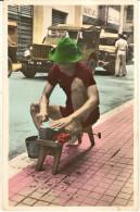 Saigon-un Aiguiseur Ambulant-cpsm Sud Vietnam - Vietnam