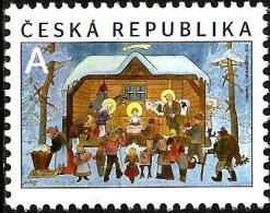 Czech Republic - 2014 - Christmas - Mint Stamp - Czech Republic
