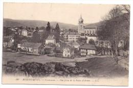 CPA Remiremont Vosges 88 Panorama Vue Prise De La Roche D' Arma édit LL N°90 écrite 1919 - Remiremont