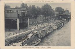 (R) PARIS , Exposition Internationale Des Arts Décoratifs , 1925 ;   Les Péniches POIRET  , AMOUR  , DELICE  , ORGUE - Exhibitions