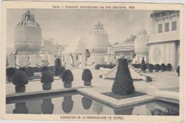 (R) PARIS , Exposition Internationale Des Arts Décoratifs , 1925 ;  LA MANUFACTURE DE SEVRE - Exhibitions