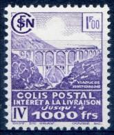 Frankreich  PM  Mi. 149  Dampflokomotive Auf Viadukt 1941 **/MNH - Trains
