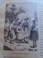 USA  -  Young Ladies Of Biblical Society    1882  Hungarian Print   2NV344 - Historical Documents