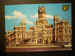 1182 ESPAÑA SPAIN MADRID CORREOS Y CIBELES POSTCARD POSTAL AÑOS 60 - TENGO MAS POSTALES - Madrid