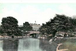 Dublin. The Lake, Stephen Green And Shelbourne Hotel. - Dublin
