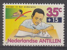 Ned. Antillen - Kinderzegels - Gevaar Op School - Postfris/MNH – NVPH 1042a - Curaçao, Nederlandse Antillen, Aruba