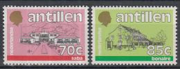 Ned. Antillen - Standaardserie - Gebouwen Van De Bestuurscolleges - MNH - NVPH 887-888 - Curaçao, Nederlandse Antillen, Aruba