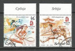 Serbia 2008. Used Beijing Olympic Games Set - Servië