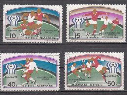 KOREA, DPRK, 1977,  1978 FIFA Football World Cup Argentina, FINE USED - Corea Del Nord