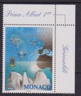 MONACO - 1999 Grimaldi Seamounts Map 1 V. MNH - Geografia