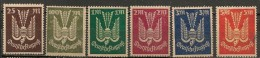 Timbres - Allemagne - Empire - 1922-1923 - Lot De 6 Timbres - - Alemania