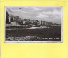 LIBAN BEYROUTH Beirut Vue de Minet el Husn 1937 ( Angle peu commun )