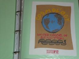 BUVARD COLLECTION    BENETTON 12 United Colors Of - Cinéma & Theatre