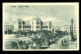 Tripoli Grand Hotel / Postcard Circulated - Libye