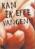 Boomerang Kaart - Kan Ik Effe Vangen?! Vanessa Knijn. - Humor
