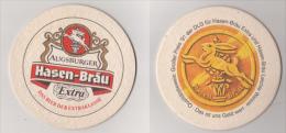 Hasen Bräu Augsburg Extra , 1991 , DLG - Das Ist Uns Gold Wert - Sous-bocks