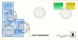 Nederland - W-enveloppe/Philato - 11-6-1981 - Cijferzegels Crouwel - ROM W38 - NVPH 1114-1115 - FDC