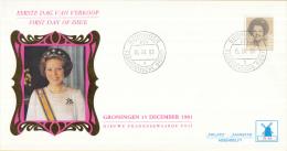 Nederland - W-enveloppe/Philato - 15-12-1982 - Koningin Beatrix In Zwart - ROM W46/NVPH 1237 - FDC