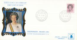 Nederland - W-enveloppe/Philato - 9-3-1982 - Koningin Beatrix In Zwart - ROM W49/NVPH 1250 - FDC