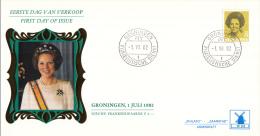 Nederland - W-enveloppe/Philato - 1-7-1982 - Koningin Beatrix In Zwart - ROM W53/NVPH 1245 - FDC