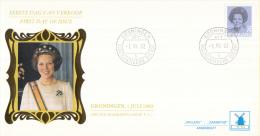 Nederland - W-enveloppe/Philato - 1-7-1982 - Koningin Beatrix In Zwart - ROM W54/NVPH 1247 - FDC