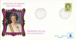 Nederland - W-enveloppe/Philato - 1-7-1982 - Koningin Beatrix In Zwart - ROM W55/NVPH 1248 - FDC