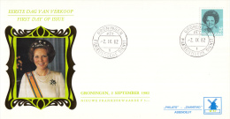 Nederland - W-enveloppe/Philato - 2-9-1982 - Koningin Beatrix In Zwart - ROM W57/NVPH 1249 - FDC
